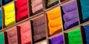 Segments colorés